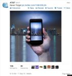 AT&T's 9/11 tweet from 2013